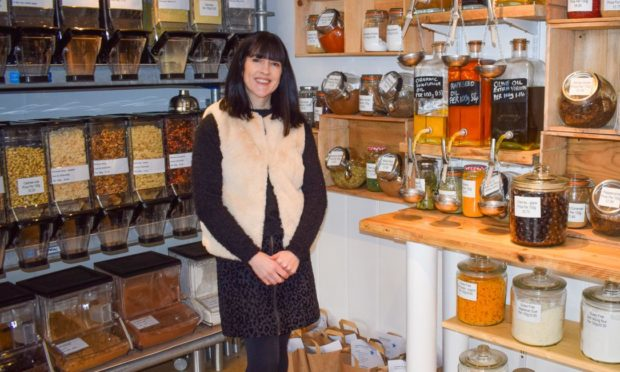 Debbie Gallacher of Love Your Planet in Broughty Ferry
