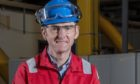 New plant manager Martin Burrell at Mossmorran.