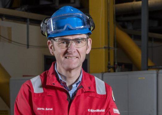 FEP plant manager Martin Burrell.