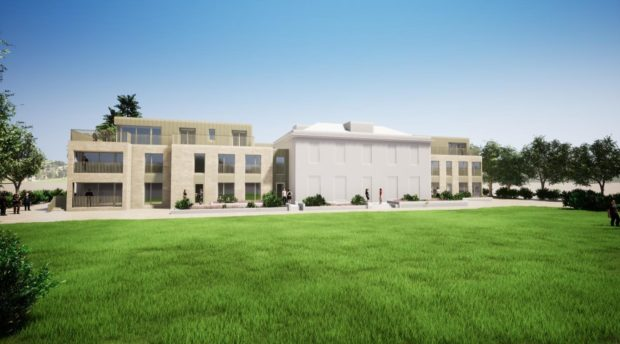 How the new homes at the Fernbrae Hospital site could look.