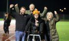 Ashlie Lamb with husband, Daniel Lamb, and parents Graeme and Jayne Nugent.