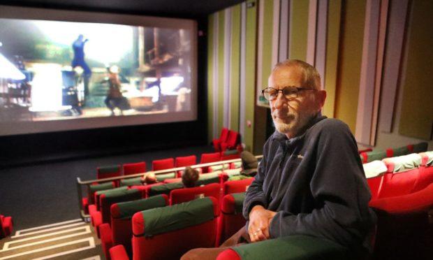 Robin Baker of the Birks Cinema Trust.