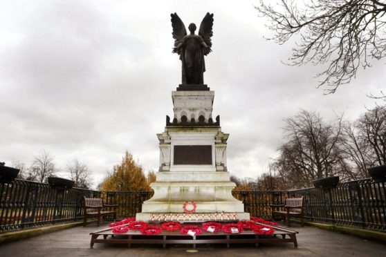 Cupar War Memorial which is set to get its plaques expanded to include the name of a WW2 soldier who died in Hong Kong,