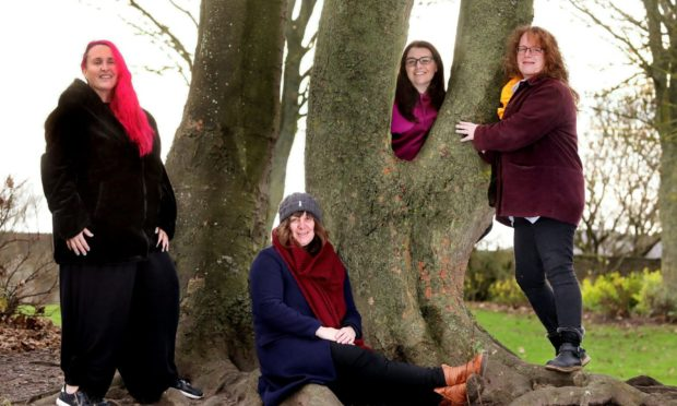 Karen Elliot, Morag Smith , Natalie Cargill and Claire Pullar.