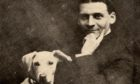 The Great Lafayette Sigmund Neuberger with his dog Beauty
