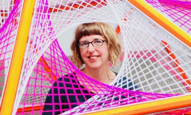 Hannah Ayre designed the lanterns.