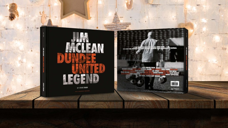 Jim McLean - Dundee United Legend
