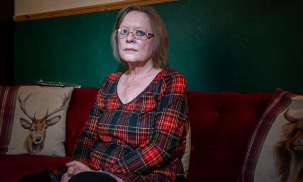Eileen Stuart has been plagued by someone knocking on the door of her home at night for years.