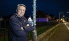 Like most villagers, Angus Forbes wants to see the string of vandalisms to Christmas lights ended.