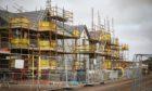 Stewart Milne Homes building work on Balumbie Road, Dundee.