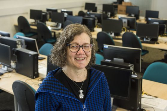 Professor Karen Renaud, from Abertay University's Division of Cybersecurity. Unknown. Supplied by Abertay University Date; 06/05/2019  Pic Alan Richardson Pix-AR.co.uk Free to Use  Prof Karren Renaud, Abertay University, Dundee.