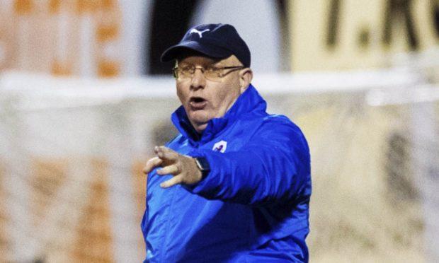 Raith boss John McGlynn.