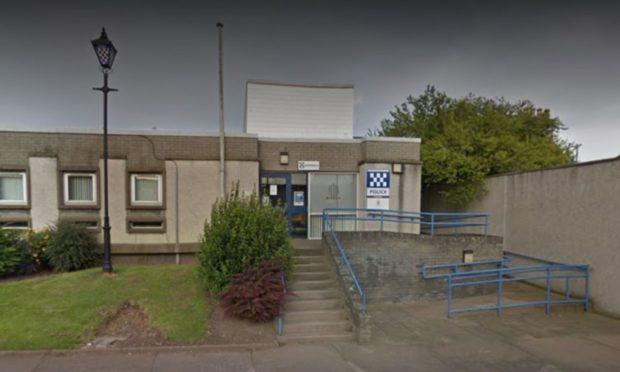 Montrose police office.