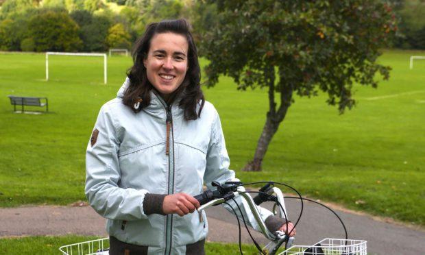 Volunteer Lali Tudela is a key figure in the award-winning project.