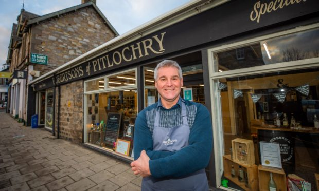 Ewan McIlwraith of Robertsons of Pitlochry.