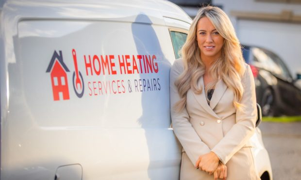 Lisa Stewart formed Home Heating Services & Repairs after taking voluntary redundancy.