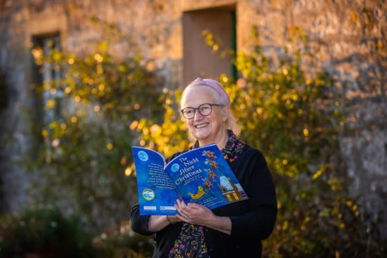 Irene McFarlane from Kinross, has published a Christmas children's book in Scots based on The Night Before Christmas, called The Nicht Afore Christmas.