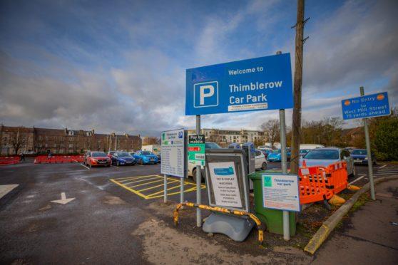 Thimblerow Car Park.
