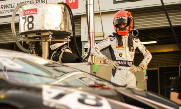 Victory at Silverstone will deliver Sandy Mitchell the British GT crown this weekend.