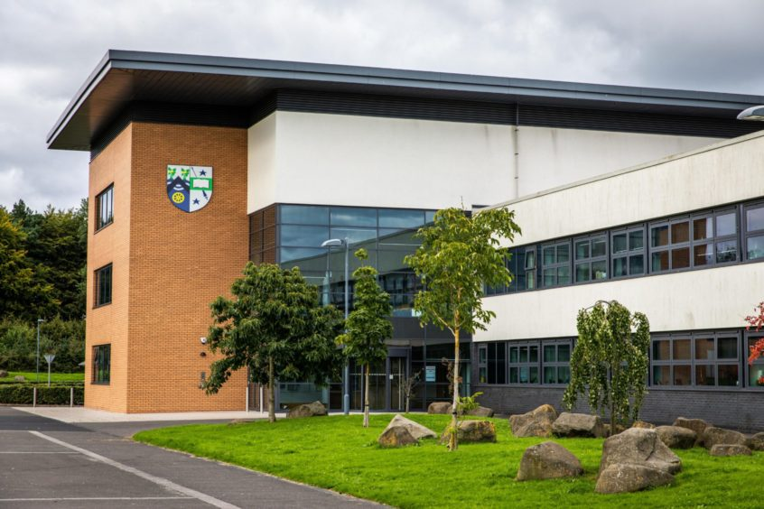 Ten pupils and six staff at Auchmuty High School have tested positive for coronavirus.