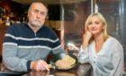 William and Lynn McCord at their pub The Muirs Inn in Kinross.