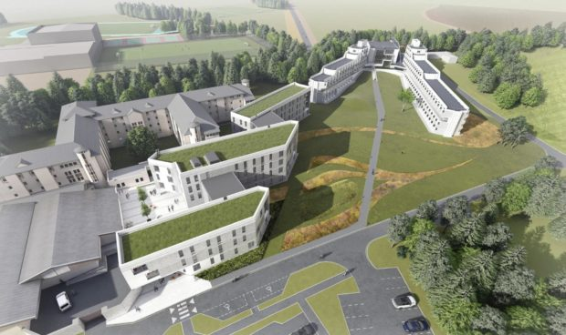 Artist's impressions released as part of the planning proposals show what the development could look like.