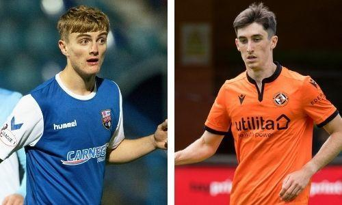 St Johnstone kid Cammy Ballantyne and Dundee United teenager Chris Mochrie are starring for Montrose on loan.