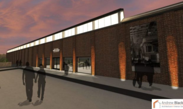 Dundee Museum of Transport design plans for Maryfield Tram Depot