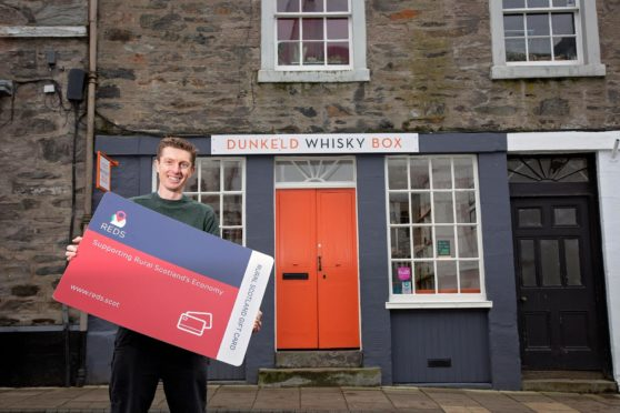 Will Stockham co-owner of Dunkeld Whisky Box is participating in the REDS gift card scheme.