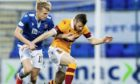 Ali McCann in action against Motherwell.