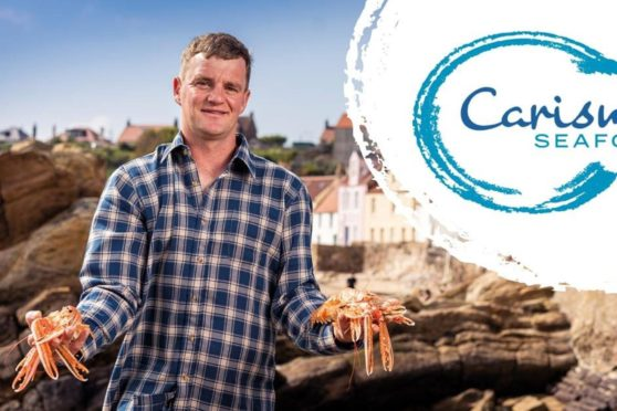 Kirk Doig, from Carisma Seafood.