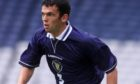 Callum Davidson in his Scotland playing days.