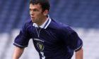 Callum Davidson in his Scotland playing days.