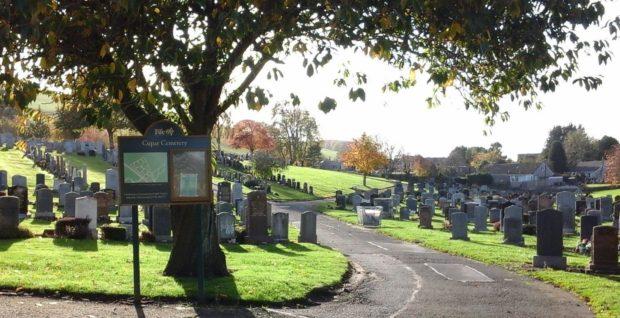 Cupar Cemetery.