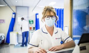 Hospital on Monday, BBC Two, at 9pm follows staff at Barnet Hospital in London.