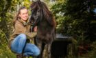 Johanna Maria Würtz and her pony Hechizo walked from Spain to study in Dundee.