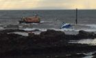 The RNLI lifeboat called to the stricken fishing vessel off Pittenweem.