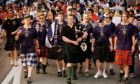 The Tartan Army have always known how to make an entrance!