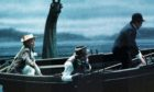 A scene from the movie which took place over Loch Ness in 1970.