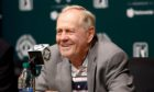 Jack Nicklaus endorsed Trump in November's presidential election.
