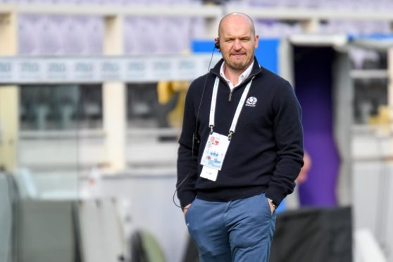 Gregor Townsend stuck with his team for France even after news of the cancellation of the Autumn Natons Cup game against Fiji.
