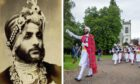 Maharaj Duleep Singh lived near Aberfeldy in Victorian times.