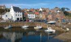 Crail Harbour.