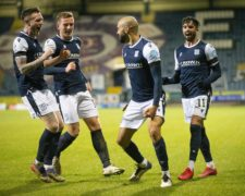 Dundee building 'momentum' ahead of Hearts clash says boss James McPake