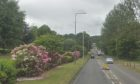 Leslie Road in Glenrothes, where Saturday night's accident took place.