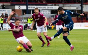 Dundee boss James McPake sends warning to players over Arbroath's league position