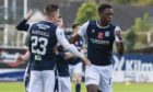 Jonathan Afolabi is expected to return for Dundee today at Inverness.