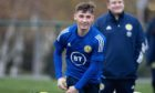 Chelsea and Scotland U/21 midfielder Billy Gilmour.