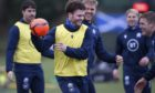 Duncan Taylor is enjoying the squad atmosphere with Scotland.