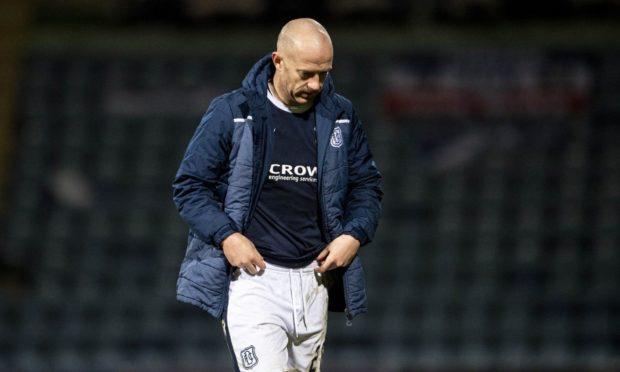 Dundee midfielder Charlie Adam.